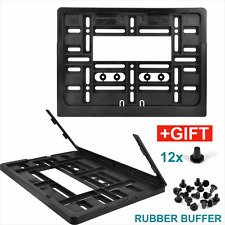 Universal Square Number Plate Holder Surround CAR Truck 4x4 trailer caravan 11x8