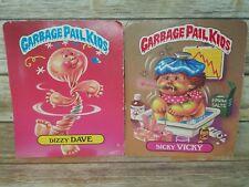 Garbage Pail Kids Dizzy Dave & Itchy Richie | Geeky Gary & Sicky Vicky Folders