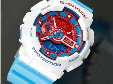 NEW WITH TAG CASIO G-SHOCK GA-100AC-7A MULTI COLOR DIG-ANA X-LARGE SPORT WATCH