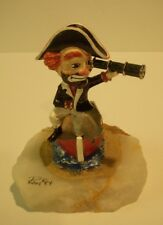 "Ron Lee Red Skelton Collection ""FREDDIE THE FREELOADER"" Scupture Figure Art"