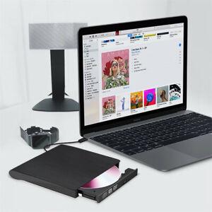 3.0 USB External Disc Player Combo DVD CD RW Burner Writer Drive Laptop Computer