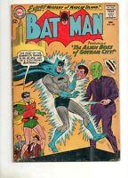 """Batman #160 SCI-FI CRIME Cover """"Alien Boss of Gotham""""! DC 1963 VG/Fine 5.0"""