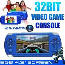 "4.3"" Psp Video Game Console Player 32 Bit Built-In 10000 Game Portable Handheld"