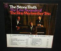 Roy Meriwether Trio~The Stone Truth~Promo LP/Mono~Vinyl NM