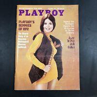 Vintage Playboy Magazine October 1972 VG+ X7