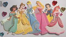 EK Success Multi Princess Cinderalla Belle Scrapbook Craft Sticker Embellishment