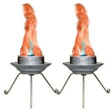 2 x Chauvet BOB LED Flame Machine Light Effect Fire DJ Disco Party Decor