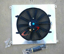 NEW ALUMINUM RADIATOR SHROUD + FAN FOR Ford XW XY 302 GS GT 351 Cleveland