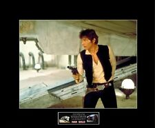 """STAR WARS ANH Han Solo Docking Bay 94 8""""x10"""" Picture - 11""""x14"""" Black Matted"""
