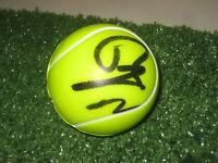 RAFAEL NADAL HAND SIGNED PLASTIC TENNIS BALL UNFRAMED + PHOTO PROOF + C.O.A