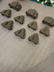 1x Lego Building Plate Green 24x8 Lawn Set 6083 6060 1584 3497