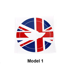 Union Jack Car Steering Wheel Sticker Logo Cricle Decal Fit For Mini Cooper