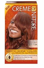 Creme of Nature Exotic Shine Color With Argan Oil, Bronze Copper 7.64, 1 ea