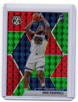 Eric Paschall  RC SP  ▪  2019-20 Mosaic Choice RED & GREEN Prizm #250  Rookie