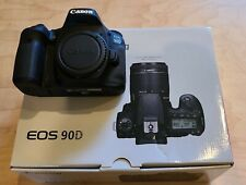 Canon EOS 90D 34.4 MP Digital Camera - Black (Body Only)