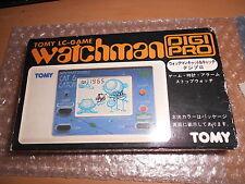 Vintage ! Jeu électronique  TOMY LC game WATCHMAN en boite