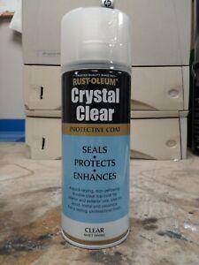 Rust-Oleum Crystal Clear Protective Coat Clear Matt Finish 400ml