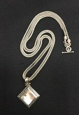 Michael Dawkins Sterling Silver Mother Of Pearl Necklace/Pendant