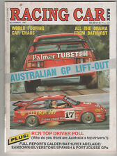 Racing Car News 1987 Nov Ford Laser Turbo Sandown Wannaroo Adelaide Silverstone