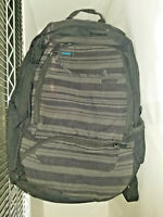 Dakine Wax Recon Pack techno stripe pattern 9 pocket Urban Backpack day bag