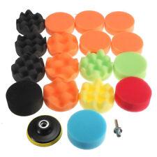 19Pcs Gross Polishing For Buff Pad Kit For Car+Drill Adapter-M10 Polishing Pads
