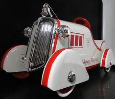 A Pedal Car Fire Engine Ford Truck T 1920s Chrome Grille Vintage Midget Model