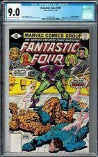 Fantastic Four #206 CGC 9.0 (May 1979, Marvel) Marv Wolfmann story, Skrulls app.