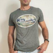 VON DUTCH T-Shirt Col Rond Coton Homme AARON Coloris gris AARON/CAM
