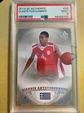 2013 SP Authentic #36 Giannis Antetokounmpo RC Rookie PSA 9 Bucks