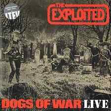 Los perros de guerra explotados-Live - (todavía sellado Gris Vinilo Lp) - LETV 195LP