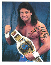 m726  Marty Jannetty signed wrestling 8x10 w/ COA  HISTORY **BONUS**