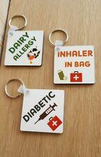 Medical Alert Keyrings/Bag Tags