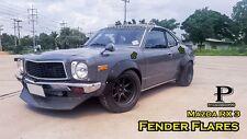 "JDM Fender Flares Wheel arch set For Mazda RX3 / premium sheet metal 1/32"""