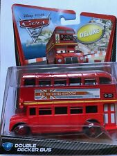 Disney Cars 2 Double Decker Bus Collector #4 (NIP, but See collector Note)
