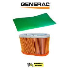 NEW GENUINE OEM GENERAC 0D4511 & 0D9723S AIR & PRE FILTER SET