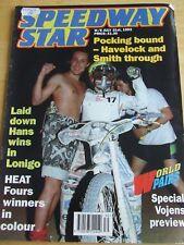 SPEEDWAY STAR MAGAZINE JUL 1993 POCKING HAVELOCK SMITH VOJENS LONIGO HEAT FOURS