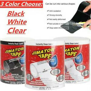 "Sealer  Tape 4"" x 60"" Super Strong Rubber Waterproof Leak Adhesive Sealant Seal"