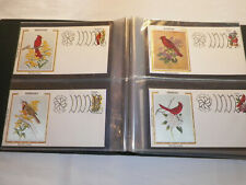 1982 BIRDS & FLOWERS OF THE 50 STATES FIRST DAY COVERS american postal arts soc