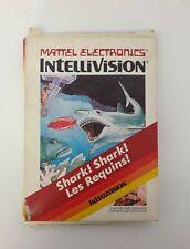 Intellivision Shark! Shark! Les Requins Mattel Electronics 1982
