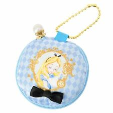 Disney Store Japan Alice in Wonderland Macaron Macaroon Small Coin Bag Keychain