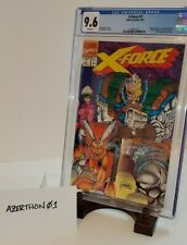 X-FORCE #1 CGC 9.6! 1st Print CABLE Rob Liefeld Marvel Comics X-Force Negative
