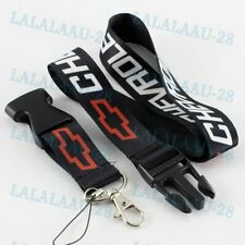 For CHEVY Chevrolet Camaro Keychain Lanyard Quick Release Key chain Black