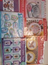 Cross Stitch Kits X 6