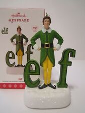 Hallmark 2017 Buddy the Elf Sound Ornament Will Ferrell NEW