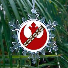 Star Wars Rebel Alliance Chewbacca Snowflake Holiday Christmas Tree Ornament