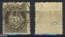 Norway 1909, NK 106 Son Moldøen 5-II-1921 (SF-Grad 5)