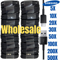 Wholesale Lot 4FT USB C Charging Cable Cord Lot Fast Charger Samsung S20 Android