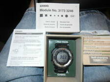 Casio Men's PRG -260-1 Pro-Trek Watch with Black Band- NEW