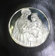 Sealed Genius Of Rembrandt Sterling Silver Proof Medal The Bridal Couple