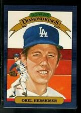 1986 Donruss Diamond Kings #18 OREL HERSHISER Los Angeles Dodgers
